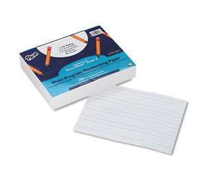 PACON CORPORATION 2418 Multi-Program Handwriting Paper, 16 lbs., 8 x 10-1/2, White, 500 Sheets/Pack by PACON CORPORATION