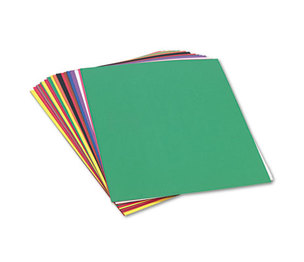 PACON CORPORATION 6517 Construction Paper, 58 lbs., 18 x 24, Assorted, 50 Sheets/Pack by PACON CORPORATION