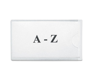 Panter Company, Inc 15432104004 Slap-Stick Magnetic Label Holders, Side Load, 4-1/4 x 2-1/2, White, 10/Pack by PANTER COMPANY