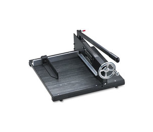 "PREMIER MARTIN YALE 7000E Commercial Stack Paper Cutter, 350 Sheet Capacity, Wood Base, 16"" x 20"" by PREMIER MARTIN YALE"