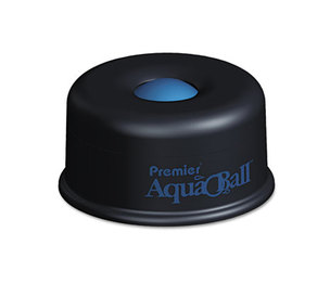 "PREMIER MARTIN YALE AQ701G AquaBall Floating Ball Envelope Moistener, 1 1/4"" x 1 1/4"" x 5 3/8"", Black, Blue by PREMIER MARTIN YALE"
