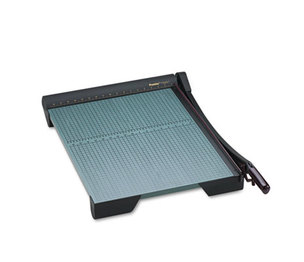 """PREMIER MARTIN YALE W24 The Original Green Paper Trimmer, 20 Sheets, Wood Base, 18 3/4"""" x 27 1/4"""" by PREMIER MARTIN YALE"""