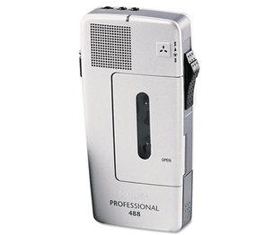 INGRAM MICRO LFH048800B Pocket Memo 488 Slide Switch Mini Cassette Dictation Recorder by PHILIPS SPEECH PROCESSING