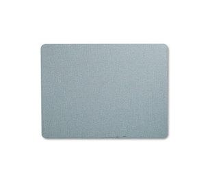 Quartet 7684BE Oval Office Fabric Bulletin Board, 48 x 36, Light Blue by QUARTET MFG.