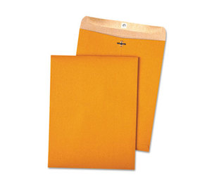 QUALITY PARK PRODUCTS 38712 100% Recycled Brown Kraft Clasp Envelope, 10 x 13, Brown Kraft, 100/Box by QUALITY PARK PRODUCTS