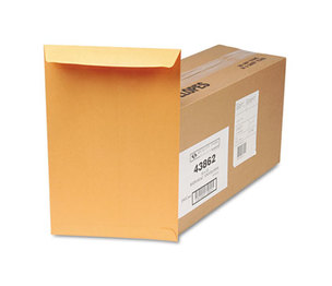 QUALITY PARK PRODUCTS 43862 Redi-Seal Catalog Envelope, 10 x 15, Brown Kraft, 250/Box by QUALITY PARK PRODUCTS