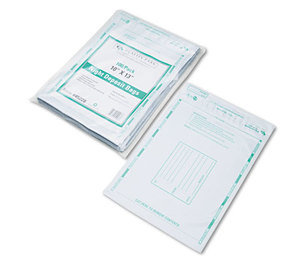 QUALITY PARK PRODUCTS 45228 Poly Night Deposit Bags w/Tear-Off Receipt, 10 x 13, Opaque, 100 Bags/Pack by QUALITY PARK PRODUCTS