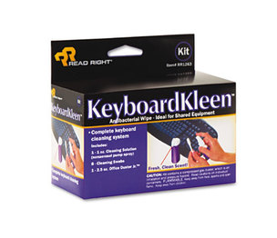 READ/RIGHT RR1263 KeyboardKleen Kit, 2.5oz Pump Spray by READ/RIGHT