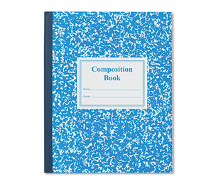 Roaring Spring Paper Products 77921 Grade School Ruled Composition Book, 9-3/4 x 7-3/4, Blue Cover, 50 Pages by ROARING SPRING PAPER PRODUCTS