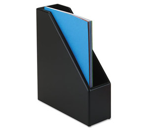 ROLODEX 62536 Wood Tones Magazine File, 3 1/2 x 10 1/4 x 11 3/4, Black by ROLODEX