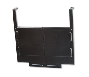 RUBBERMAID COMMERCIAL PROD. 16698 Hot File Panel and Partition Hanger Set, Dark Brown by RUBBERMAID