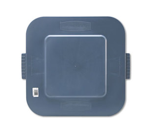 RUBBERMAID COMMERCIAL PROD. 352700 Square Brute Lid, 24 x 22 x 1 1/5, Gray by RUBBERMAID COMMERCIAL PROD.