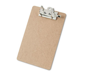 "Saunders Mfg. Co. Inc 05712 Arch Clipboard, 2"" Capacity, Holds 8-1/2""w x 12""h, Brown by SAUNDERS MFG. CO., INC."