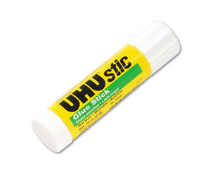 Saunders Mfg. Co. Inc 99649 UHU Stic Permanent Clear Application Glue Stick, .74 oz by SAUNDERS MFG. CO., INC.