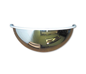 "Half-Dome Convex Security Mirror, 18"" dia. by SEE ALL INDUSTRIES, INC."