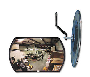 "See All Industries, Inc RR1218 160 degree Convex Security Mirror, 18w x 12"" h by SEE ALL INDUSTRIES, INC."