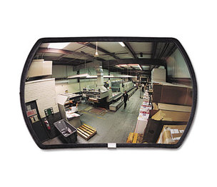 "See All Industries, Inc RR1524 160 degree Convex Security Mirror, 24w x 15"" h by SEE ALL INDUSTRIES, INC."