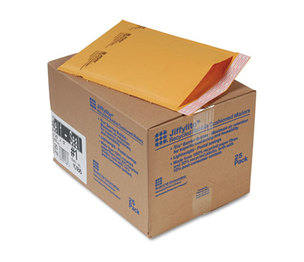 ANLE PAPER/SEALED AIR CORP. 10186 Jiffylite Self-Seal Mailer, Side Seam, #1, 7 1/4 x 12, Golden Brown, 25/Carton by ANLE PAPER/SEALED AIR CORP.