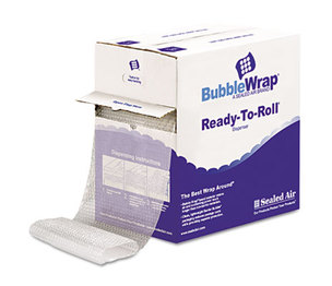 """ANLE PAPER/SEALED AIR CORP. 1000022501 Bubble Wrap Cushion Bubble Roll, 1/2"""" Thick, 12"""" x 65ft by ANLE PAPER/SEALED AIR CORP."""