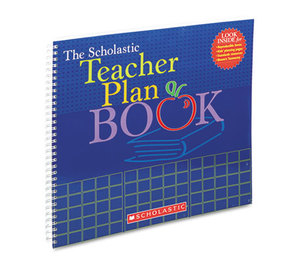 Scholastic 0-439-71056-1 Teacher Plan Book (Updated), Grade K-6, 13 x 11, 96 pages by SCHOLASTIC INC.