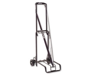 Bond Street, Ltd 390002BLK Luggage Cart, 125lb Capacity, 13 x 10 Platform, Black Steel by BOND STREET LTD.