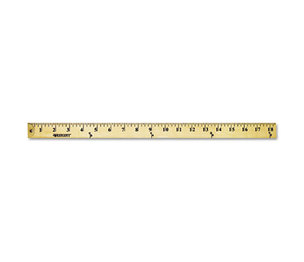 "ACME UNITED CORPORATION 10425 Wood Yardstick with Metal Ends, 36"" by ACME UNITED CORPORATION"