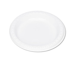 "Tablemate Products, Inc 6644WH Plastic Dinnerware, Plates, 6"" dia, White, 125/Pack by TABLEMATE PRODUCTS, CO."