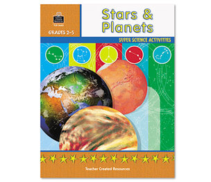 TEACHER CREATED RESOURCES TCR3663 Super Science Activities/Stars Planets, Grades 2-5, 48 Pages by TEACHER CREATED RESOURCES