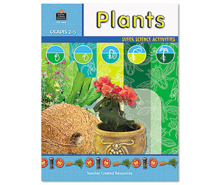 TEACHER CREATED RESOURCES TCR3665 Super Science Activities/Plants, Grades 2-5, 48 Pages by TEACHER CREATED RESOURCES