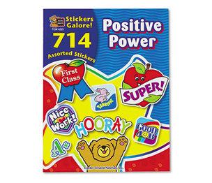 TEACHER CREATED RESOURCES 4225 Sticker Book, Positive Power, 714/Pack by TEACHER CREATED RESOURCES