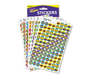 TREND ENTERPRISES, INC. T1945 SuperSpots and SuperShapes Sticker Variety Packs, Positive Praisers, 2,500/Pack by TREND ENTERPRISES, INC.