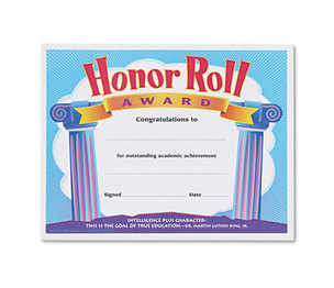 TREND ENTERPRISES, INC. T2959 Honor Roll Award Certificates, 8-1/2 x 11, 30/Pack by TREND ENTERPRISES, INC.