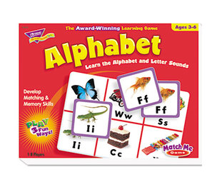 TREND ENTERPRISES, INC. T58101 Alphabet Match Me Puzzle Game, Ages 4-7 by TREND ENTERPRISES, INC.