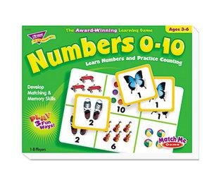 TREND ENTERPRISES, INC. T58102 Numbers 0-10 Match Me Puzzle Game, Ages 3-6 by TREND ENTERPRISES, INC.