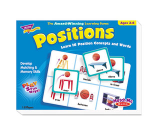 TREND ENTERPRISES, INC. T58104 Positions Match Me Puzzle Game, Ages 5-8 by TREND ENTERPRISES, INC.
