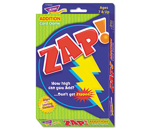 TREND ENTERPRISES, INC. T76303 Zap Math Card Game, Ages 7 and Up by TREND ENTERPRISES, INC.
