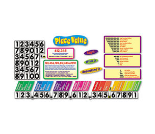 TREND ENTERPRISES, INC. T8182 Place Value Bulletin Board Set by TREND ENTERPRISES, INC.