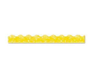 """TREND ENTERPRISES, INC. T91412 Terrific Trimmers Sparkle Border, 2 1/4"""" x 39"""" Panels, Yellow, 10/Set by TREND ENTERPRISES, INC."""