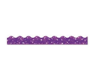"""TREND ENTERPRISES, INC. T91414 Terrific Trimmers Sparkle Border, 2 1/4"""" x 39"""" Panels, Purple, 10/Set by TREND ENTERPRISES, INC."""
