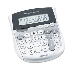 TEXAS INSTRUMENTS INC. TI-1795SV TI-1795SV Minidesk Calculator, 8-Digit LCD by TEXAS INSTRUMENTS