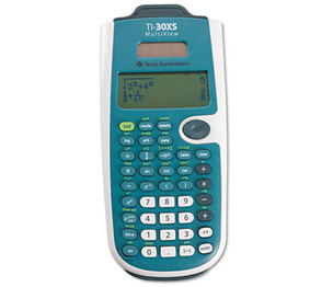 TI-30XS MultiView Scientific Calculator, 16-Digit LCD by TEXAS INSTRUMENTS