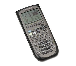 TEXAS INSTRUMENTS INC. TI89TITANIUM TI-89 Titanium Programmable Graphing Calculator by TEXAS INSTRUMENTS