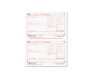Tops Products 22904KIT Tax Forms/W-2 Tax Forms Kit with 24 Forms, 24 Envelopes, 1 Form W-3 by TOPS BUSINESS FORMS
