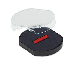 U.S. Stamp & Sign 5156 Trodat T46140 Dater Replacement Pad, 1 5/8, Blue/Red by U. S. STAMP & SIGN