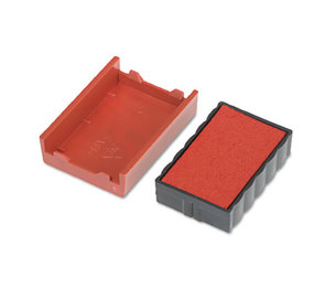 U.S. Stamp & Sign 5128 Trodat T4850 Dater Replacement Pad, 3/16 x 1, Red by U. S. STAMP & SIGN