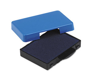 U.S. Stamp & Sign 5094 Trodat T5430 Stamp Replacement Ink Pad, 1 x 1 5/8, Blue by U. S. STAMP & SIGN