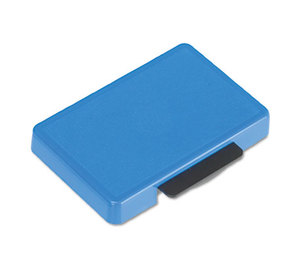 U.S. Stamp & Sign 5098 T5440 Dater Replacement Ink Pad, 1 1/8 x 2, Blue by U. S. STAMP & SIGN