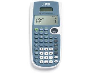 TEXAS INSTRUMENTS INC. 30XSMV/BK TI-30XS MultiView 4-Line Scientific Calculator