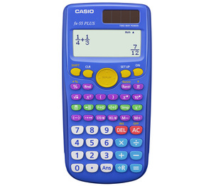 Casio Computer Co., Ltd FX-55PLUS FX-55PLUS Fraction & Scientific Calculator