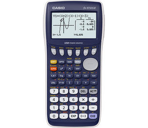 Casio Computer Co., Ltd FX-9750GII-L FX-9750GII-L Graphing Calculator (Blue)
